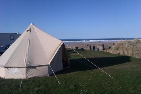 tent beach