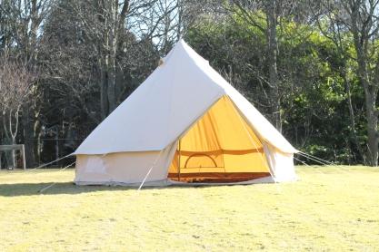 Strathcona Open Empty Tent Far