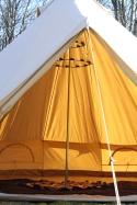 Strathcona Open Empty Tent Floor + Chandelier