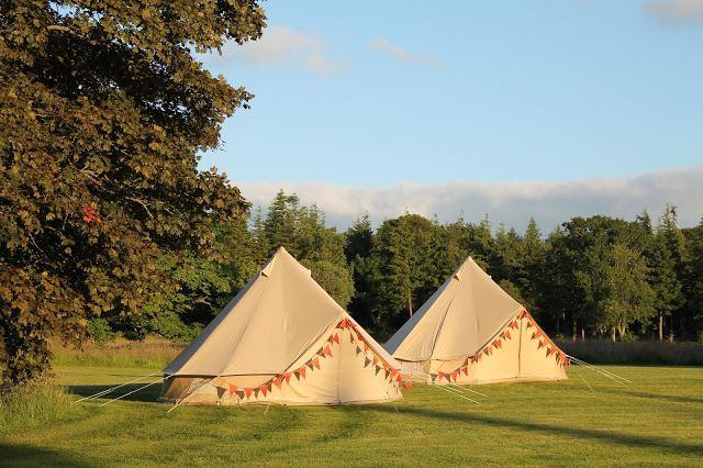 Harburn Hourse 2 tents & Harburn Hourse 2 tents | Rowan Tree Tents